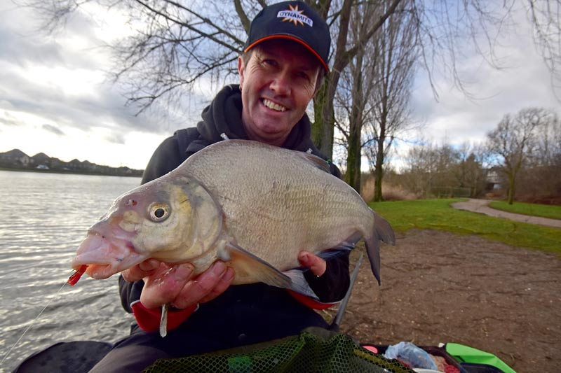 A lump of a Furzton bream